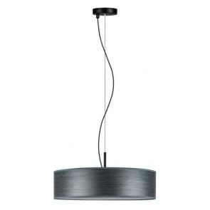 Bulb Attack Ocho Slim 1/S Wooden Pendant Lamp - Blue