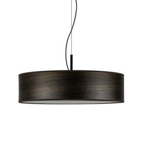 Natural wooden pendant lamp Bulb Attack OCHO Slim 1/S