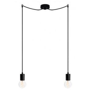 Bulb Attack CERO S2 pendant lamp with black metal bulb holder