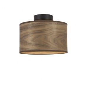 Wooden ceiling lamp Sotto Luce TSURI CP S - walnut