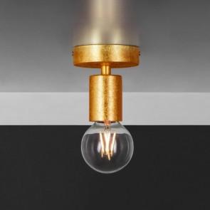 Bulb Attack Cero Basic C1 ceiling lamp copper leaves
