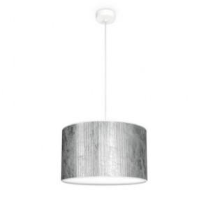 Bulb Attack TRES Plisado S1 cylindrical pendant lamp