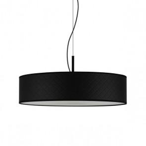 Bulb Attack Trece Slim 1/S modern pendant lamp with black shade