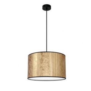 Bulb Attack TRES Plisado S1 gold pendant lamp