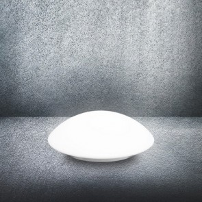 Sotto Luce Mato S ceiling or wall lamp with glass opal matte shade off