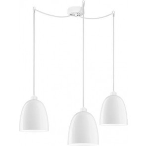 Sotto Luce AWA Elementary 3/S pendant light fitting