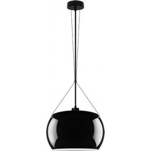 Sotto Luce MOMO Elementary 1/S pendant lamp black/opal