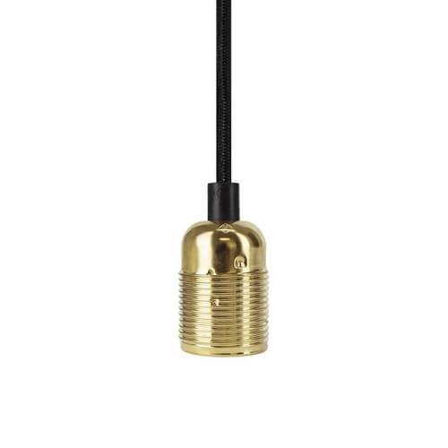 Bulb Attack UNO Basic E27 lampholder - gold glossy