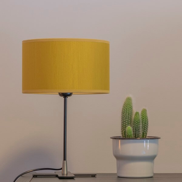 Table lamp Bulb Attack Doce 1/T mustard