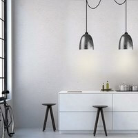 Sotto Luce pendant lamp - Awa Elementary in silver