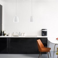Pendant lamp Sotto Luce Awa Elementary with designer glass shade
