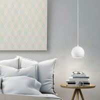 Simple pendant lamp Sotto Luce Myoo Elementary opal matte