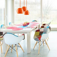 Pendant lighting - Sotto Luce Myoo orange
