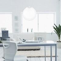 Sotto Luce Tsuki pendant lamp in white